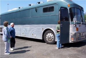 Kansas Greyhound Bus